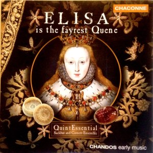 Elisa is the fairest queen cd cover